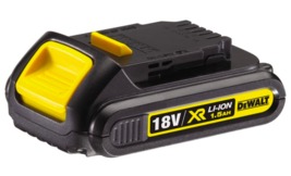 DeWalt 18V XR Lithium-Ion 1.5Ah Battery - $43.39