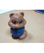 VINTAGE USSR SOVIET RUSSIAN RUBBER TOY BEAR ABOUT 1970 - $12.86