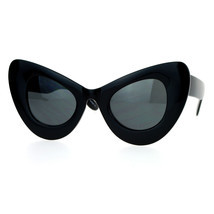 Womens Super Oversized Cateye Sunglasses Designer Fashion UV 400 - £8.60 GBP