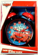 Disney-Pixar Cars Twin Bell Alarm Clock: Lightning McQueen - $17.81