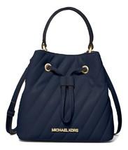 MICHAEL MICHAEL KORS Suri Small Quilted Crossbody Bag Navy MSRP: $398.00 - $148.49