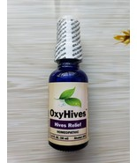 OxyHives All Natural Hives Solution Get Rid of Redness Itching Rashes Tr... - $39.95