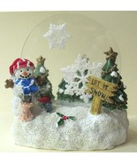 Candle Holder Mice Building Snowman Tealite - $14.04