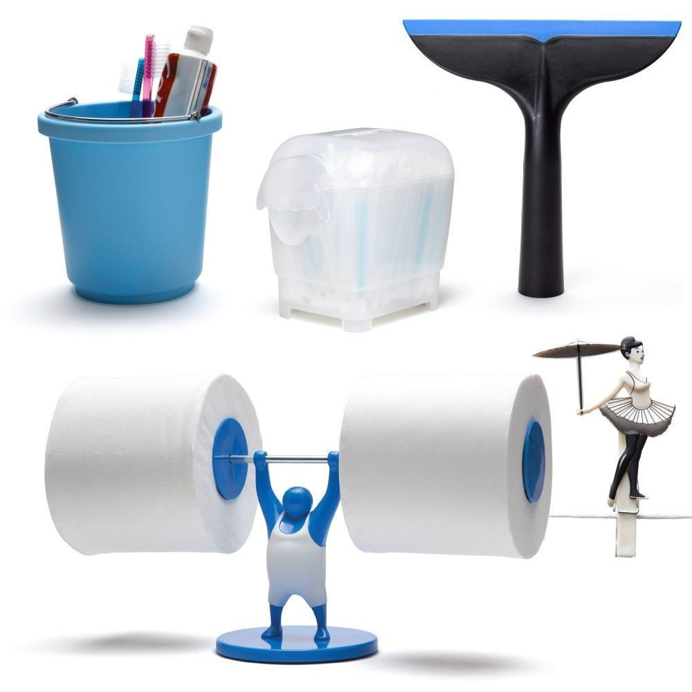Home bath 5 set funky designer gifts toilet and similar items for Funky household gifts