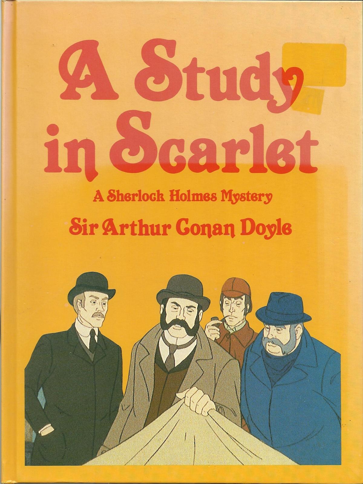 A Study in Scarlet: Sir Arthur Conan Doyle: 9781599866741 ...