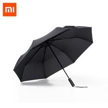 Original Xiaomi Mijia Automatic Aluminum Umbrel Sunny Rainy Windproof Wa... - $40.63