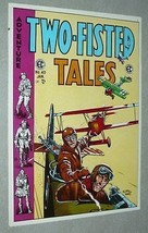Rare vintage original 1970s EC Comics Two-Fisted Tales 40 war plane cover poster - $29.99