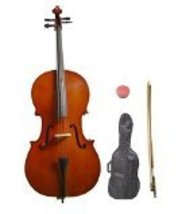 Lucky Gifts 3/4 Size Student Cello with Bag and Bow + Free Rosin ~ Natural - $119.99