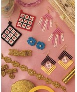 Fast & Fun Jewelry Earrings Annie's Plastic Canvas Pattern - 30 Days To ... - $0.90