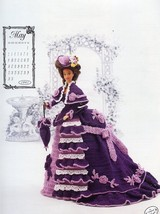 Miss May 1993 Centennial Outfit Annie's Calendar Bed Doll Crochet Pattern - $2.67