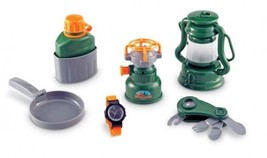 9-Piece Toy Play Camping Set - Lantern, Pocket ... - $38.03