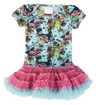 "OOH LA LA COUTURE ""hollywood"" glamour onesie/dress BNWT $75, size 9-12 m... - $36.42"