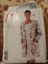 Mc Call`S Women`S Jacket And Dress Pattern  8021 - $4.50