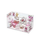Princess Dollhouse Play Set Glass Cube Girls Children Imaginary Fun Doll... - $93.20