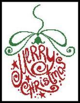 Abstract Christmas Bauble cross stitch chart Artecy Cross Stitch Chart - $7.20