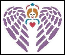 Little Guardian Angel #12091 cross stitch chart Artecy Cross Stitch Chart - $7.20