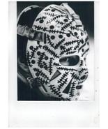 Gerry Cheevers Mask Boston Bruins Vintage 11x14 BW Hockey Memorabilia Photo - $14.95