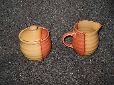 Sango Gold Dust Sienna creamer and sugar bowl and 42 similar items