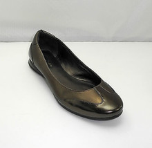 Cole Haan Nike Air Addison Metallic Copper Patent Leather Ballet Flats -... - $56.95
