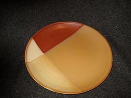 Sango Gold Dust Sienna chop  plate / round platter - $13.81