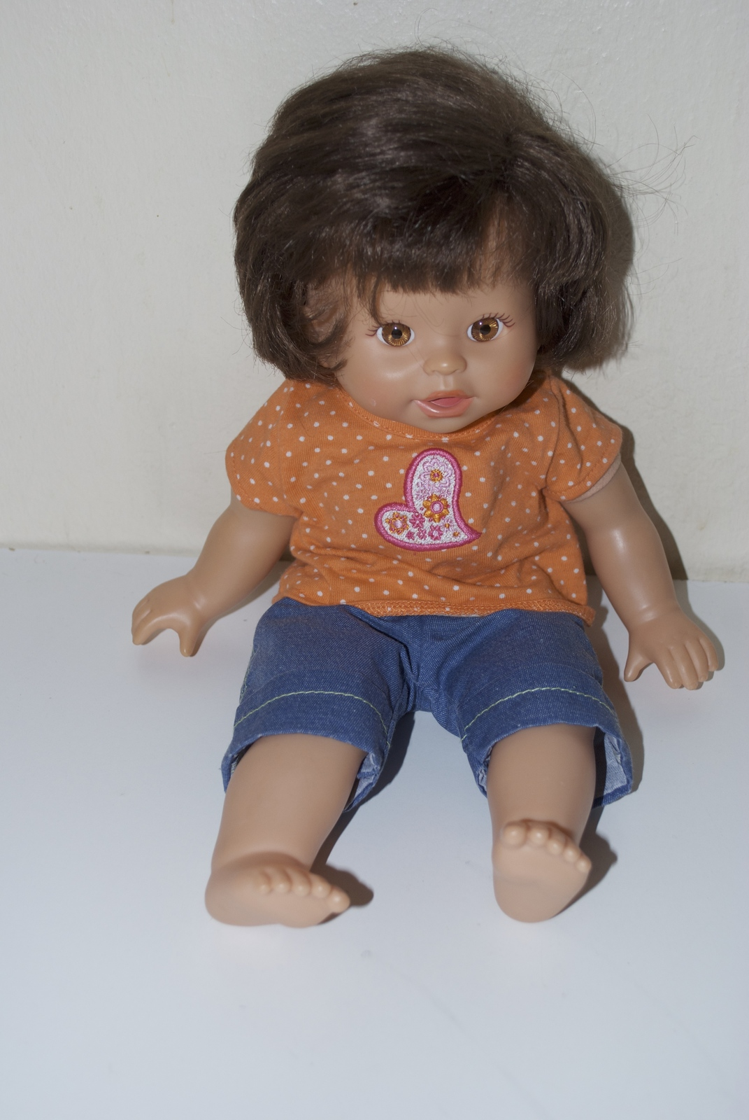 Fisher Price Little Mommy Doll Brunette Hair 2001 2008