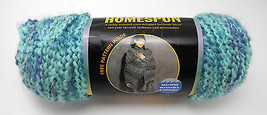 Homespun Lion Brand Yarn - 1 Skein - Color 329 Waterfall - Lot 99329236 - $9.46 CAD