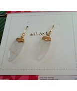 STELLA & DOT ARIA DROP EARRINGS NEW barcode tag... - $38.59