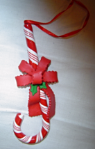 Large 6 inch Candy Cane Ornament  - $9.99