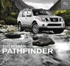 2011 Nissan PATHFINDER brochure catalog US SV LE V8 Silver Edition - $9.00