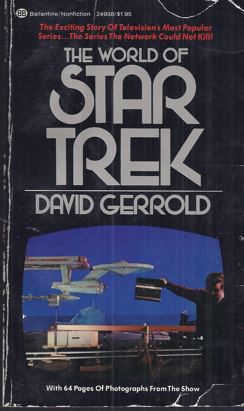 Primary image for THE WORLD OF STAR TREK - DAVID GERROLD P/Back