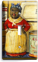 Aunt Jemima Kitchen Dining Room Vintage Retro Art Single Light Switch Wall Plate - $9.99