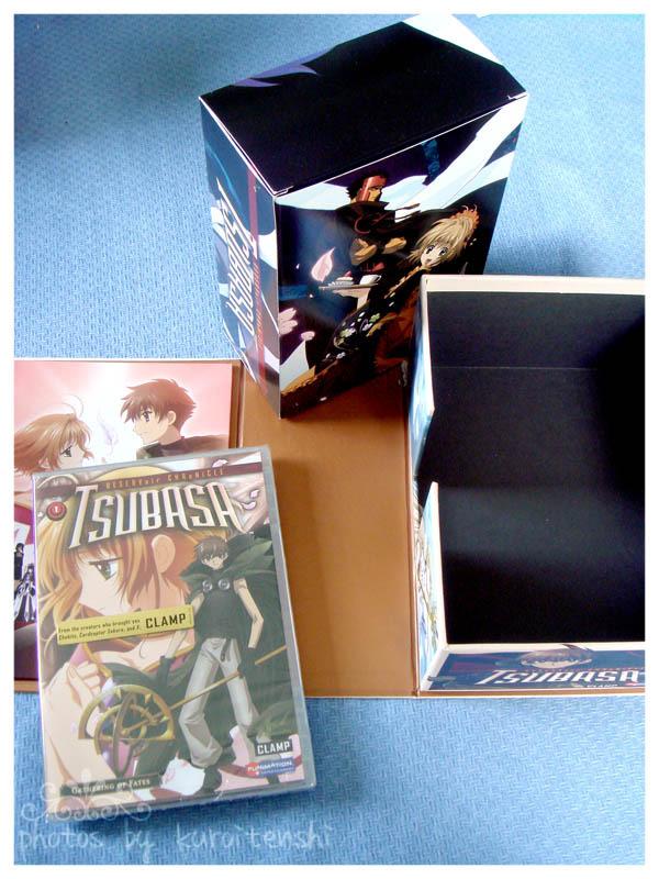 Tsubasa RC DVD Box with vol1 DVD