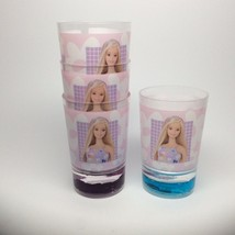 Barbie Cups A Set Of Four Cups! - $8.00