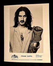 1984 FRANK ZAPPA THEM OR US BARKING PUMPKIN / WARTOKE 8X10 ORIGINAL PROM... - $45.00