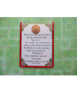 """Heaven's Pennies"" Shiny Lucky Penny Magnet or ... - $4.00"