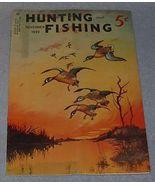 Vintage Hunting and Fishing Magazine November 1939 - $7.95