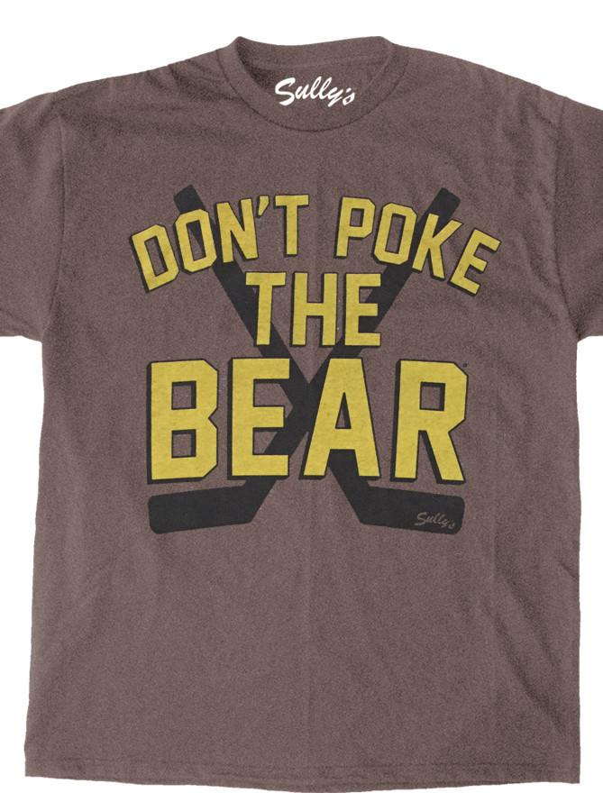 Don 39 t poke the bear retro unisex male female all ages for Boston bruins bear t shirt