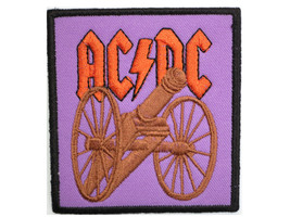 ACDC AC/DC Rock Cannon Sew On Embroidered Patch - $4.99