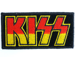 KISS Logo Hard Rock Sew On Embroidered Patch - $4.99