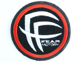 FEAR FACTORY FF Logo Death Thrash Metal Grindcore Sew On Embroidered Patch - $4.99