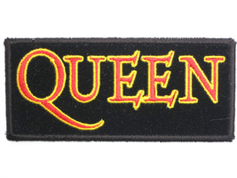 QUEEN Logo Freddie Mercury Rock Band Embroidered Patch - $4.99