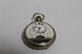 Antique vintage pocket watch HEBDOMAS - $293.14