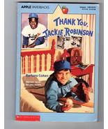 Thank You , Jackie Robinson     By Barbara Cohen - $4.95