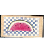All Night Media Rubber Stamp 995G06 Watermelon, Nature S15 - $7.37