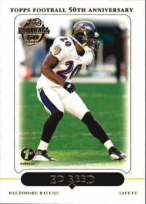 Ed Reed 2005 Topps # 99