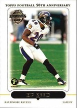 Ed Reed 2005 Topps # 99 - $1.25