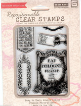 Hero Arts, Basic Grey Acrylic Stamps CL563 Make You Happy B2 - $12.59