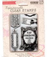 Hero Arts, Basic Grey Acrylic Stamps CL563 Make You Happy B2 - $12.59