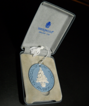 Wedgwood Hanging Christmas Tree Ornament Made in England Presentation Boxed - $16.99