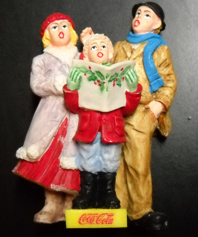 Primary image for Coca Cola Town Square Collection Accessory 1994 Singing Carolers in Original Box